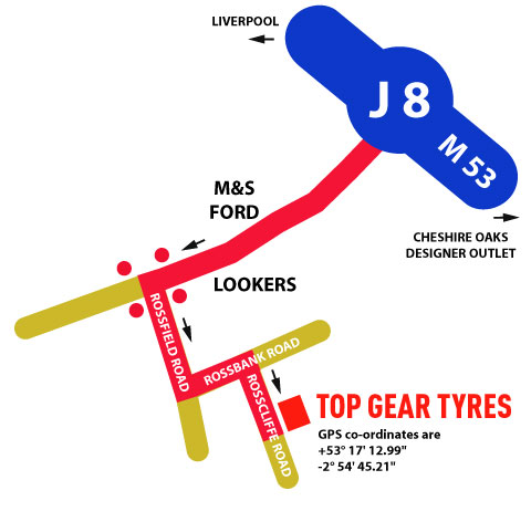 Top Gear Tyres Chester